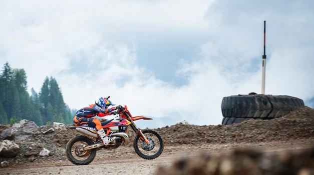 Leteči zmagovalec prologa Josep Garcia, trenutno vodilni prvenstva WESS (foto: Red Bull Content Pool)