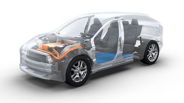Toyota in Subaru v izdelavo električne platforme za C-segment (foto: Toyota)