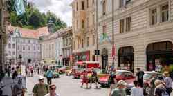 Stoletnica Citroëna z avtomobili v Ljubljani