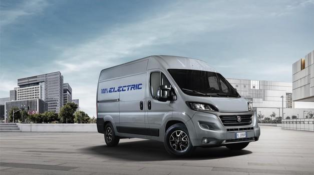 Fiat se podaja v električne vode in to kar med dostavniki (foto: Fiat)