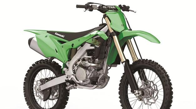 KX250 v novo desetletje vstopa povsem prenovljen (foto: Kawasaki)