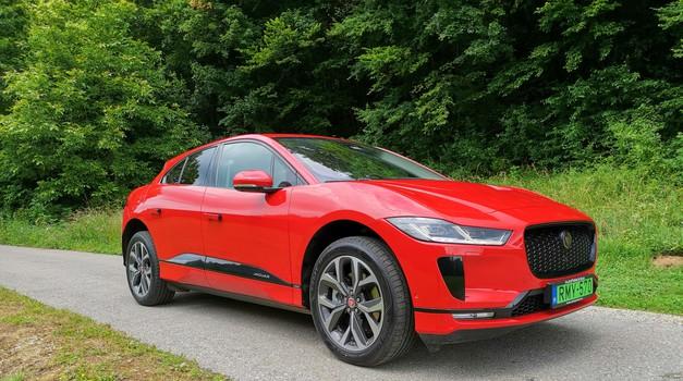 Novo v Sloveniji: Jaguar I-Pace (foto: Dušan Lukič)