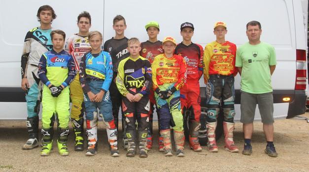 Motokros: slovenska izbrana vrsta mladincev pripravljena na svetovno prvenstvo (foto: Jaka Završan)
