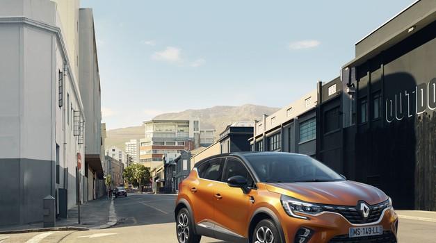 Takoj za Renault Cliom sedaj sledi še Captur - tudi kot hibrid (foto: Renault)