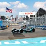 Smola je Jaguarju odnesla dvojne stopničke, Evans se je na koncu vseeno veselil drugega mesta (foto: Formula E)