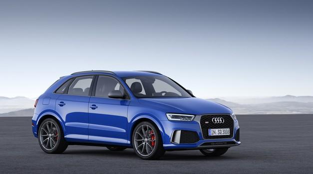 Audi širi ponudbo vozil RS med križanci (foto: Audi)