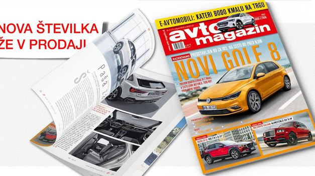 Izšel je novi Avto Magazin! Audi e-tron, Lexus ES 300h, MV Agusta Turismo Veloce Lusso SCS ... (foto: Arhiv AM)