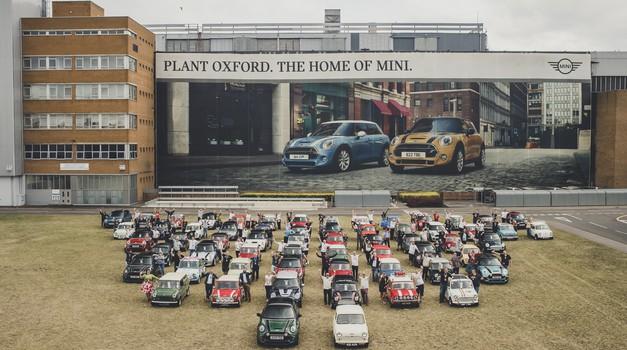 60 leti Mini in 10 milijonov primerkov vozila, ki je preoblikoval avtomobilski svet (foto: Mini)
