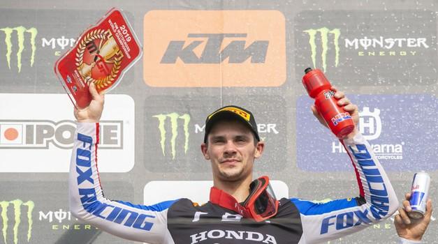 MXGP: Gajser v Imolo po naslov prvaka (foto: Honda)
