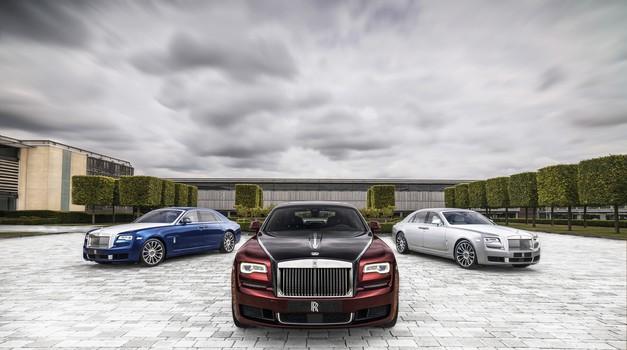 Rolls-Royce Ghost odhaja z Zenitom (foto: Rolls-Royce)