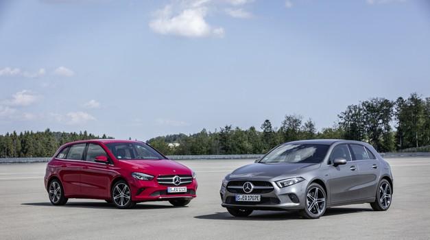 Priključno-hibridna pogonska tehnika tudi za Mercedes razreda A in B (foto: Daimler AG)