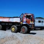 Pivko okupirali najboljši evropski terenski tovornjaki (foto: Jure Šujica)