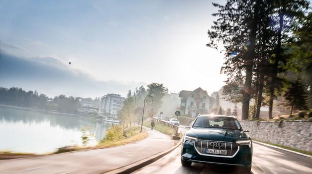Od Slovenije do Nizozemske v 24 urah z električnim avtomobilom: Audi e-tron zmore (foto: Audi)