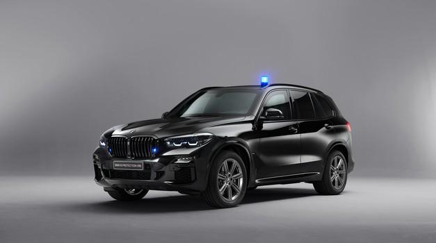 To je BMW X5, kakršnih par je nedavno kupila slovenska vlada (foto: BMW)