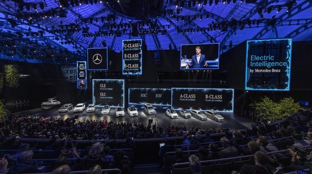 Avtomobilski salon IAA leta 2021 nič več v Frankfurtu? (foto: Daimler AG, arhiv AM)