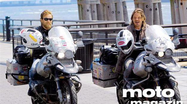 Ewan McGregor in Charley Boorman ujeta na novi avanturi - z elektromotorji (foto: Arhiv AM)