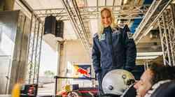 Najboljša slovenska plezalka je za en dan postala tudi nahitrejša na dirkališču