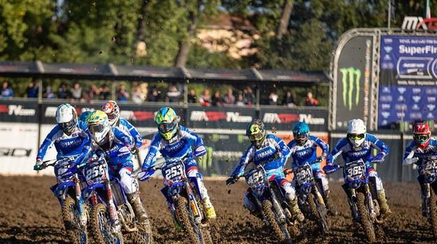 Motokros: Assen bo ta konec tedna obarvan v modro (foto: Yamaha)