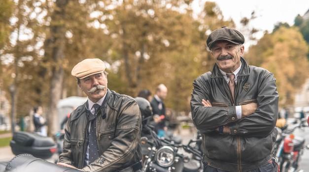 Ugledna gospóda na motorjih znova v boju proti raku (foto: Distinguished Gentlemen's ride)