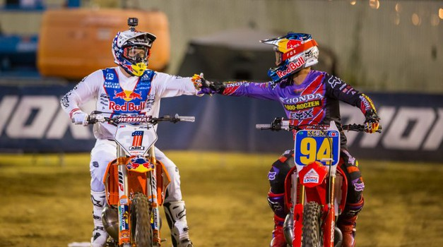 Red Bull Straight Rhythm znova navduševal (foto: Honda)