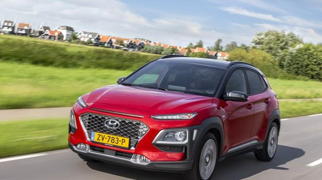 Novo v Sloveniji: Hyundai Kona Hybrid (foto: hyundai)