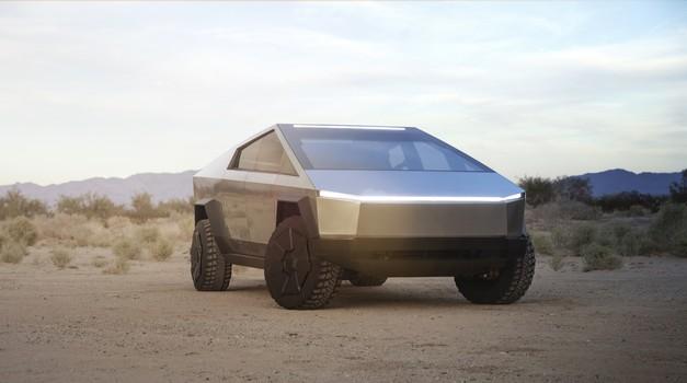 Tesla Cybertruck je vse, česar nismo pričakovali (foto: Tesla)