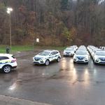 Avtomobilske novosti, s katerimi bodo slovenski policisti varovali meje (foto: Policija)