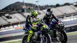 Hamilton in Rossi zamenjala dirkalnika-kako sta se odrezala?