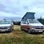 Dve osebi lahko spita z zaprto streho, dodatni dve si morata odpreti spalnico v zgornjem nadstropju. (foto: Volkswagen)