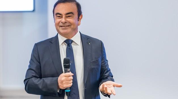 Nissan napovedal odškodninsko tožbo proti Carlosu Ghosnu (foto: Renault)